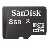 Cartão De Memória Sandisk Micro Sdhc 8gb Classe 04