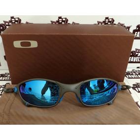 Oakley Juliet, Armação Preto, Lente Azul Ice De Sol - Óculos no ... 67061c99b4