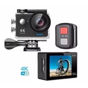 Camera 4k Original C/ Controle Wifi Mergulho Moto