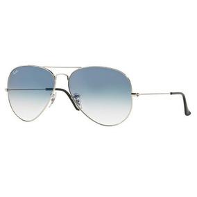 6518457f50b0c Óculos De Sol Ray Ban 3025 003 3f 58 Aviator Cinza Azul - Óculos no ...