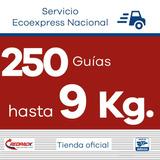 250 Guías Redpack Prepagadas, Ecoexpress 9 Kg $203.28 X Guía