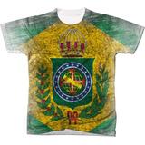 Camisa Camiseta Blusa Bandeira Imperial Brasil Patria 04 e69fdca32e38f