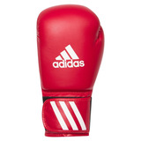 Kit Muay Thai adidas - Luva Speed50/bandagem/protetor Bucal