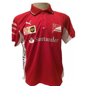 Camiseta Camisa Ferrari Santander Masculina Promoção 60407f1708192