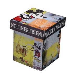 Caixa Grande Mickey - 22 X 22 Cm - Colors - Mabruk