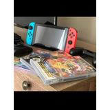 Nintendo Switch Neon + 4 Juegos