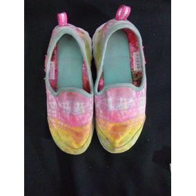 Mocasines De Tela Skechers 19 Cm Niña