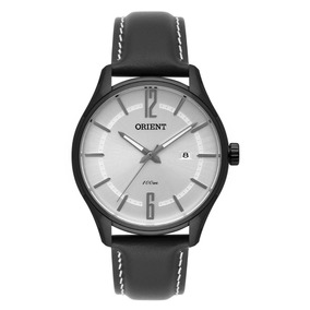Relógio Orient Masculino Mpsc1005 S2pb Preto Couro Social