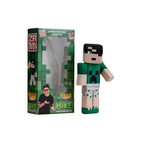 Boneco Tazer Craft Mike Zr Toys C3038