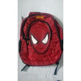 Mochila Infantil Spiderman Vermelha