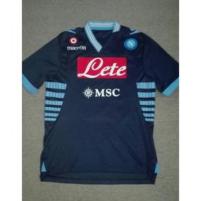 8e072d4cb231a Camiseta Suplente Napoli 2014 Higuain Hamsik Callejon - Camisetas en ...