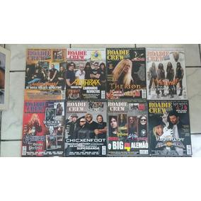 15 Revistas Roadie Crew Rock Metal Death Black Frete Grátis