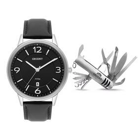 f1ccec58b49 Relogios Orient Pulseira De Couro Masculino - Relógio Orient ...