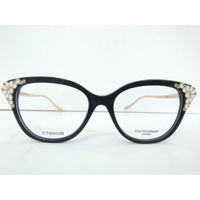 8a0a1e0990335 Armação De Óculos Ana Hickmann Edição Especial Original - Óculos no ...