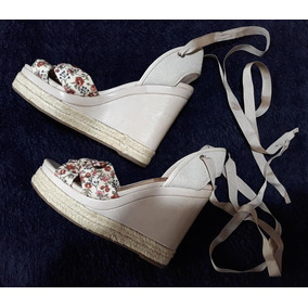 493623c80 Sandalia Plataforma Anabela Schutz - Sapatos no Mercado Livre Brasil