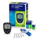 Kit Monitor De Glicemia Contour Plus + 25 Tiras #hiperoferta