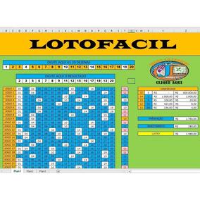 Planilha Lotofacil Com 20 Dezenas 140 Jogos