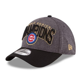 Gorra Chicago Cubs Champions Campeones Gris Ajustable Mlb e231dfcd95a