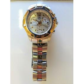 726f8469028 Relógio Tag Heuer Aço E Ouro - Joias e Relógios no Mercado Livre Brasil
