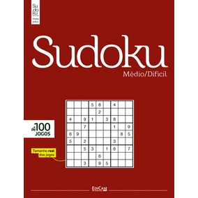 Revista Sudoku Médio/difícil Ed. 02 - Só Jogos 9x9