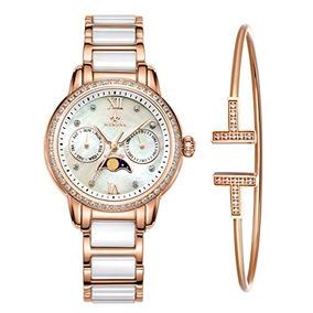 74c8ef912d77 Reloj Cronógrafo Y Pulsera Con Cronómetro En Oro Rosa Mam.