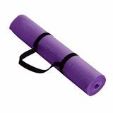 Mat Yoga 6 Mm Colchoneta Pilates Deporte Meditacion