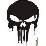 Calcomanía Punisher 06 28 X 20 Cm Graficastuning