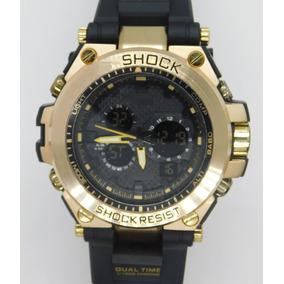 c0f44cf5ea8 Relogio Masculino Ferro Dourado - Relógios De Pulso no Mercado Livre ...