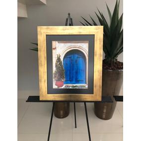 Quadro Porta Moldura Ouro Dourada Arte Histórica Capadócia