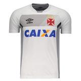 Nova Camisa Vasco Oficial Umbro Treino Jogador Branca 2017 63d48ab5ef10c