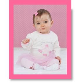 Conjunto Infantil (playwear) Composto Por Body + Calça