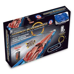 Pista Corrida Supersonica Alta Velocidade Car016 - Polibrinq
