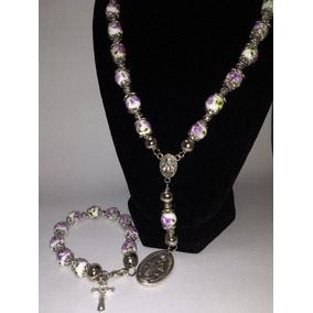 e11152106755 Collar Violeta Con Dorado De Rapsodia Bijouterie - Joyas y ...