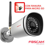 Foscam Fi9900p Camara Ip Wifi Exterior Fullhd Microsd Ir 20m