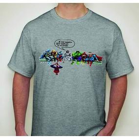 c3bb774578 Camisas Jesus E Os Vingadores - Camisas no Mercado Livre Brasil
