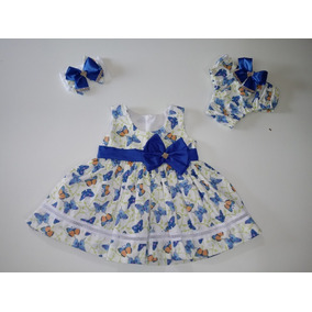 Tiaras Bebe - Vestidos Branco de Bebê no Mercado Livre Brasil b1de138a773eb