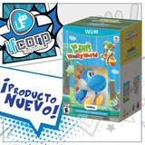 Yoshi´s Wolly World Y Amiibo Yoshi Azul Wii U Nintendo