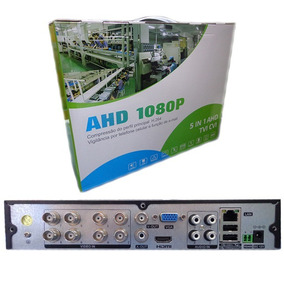 Dvr Ahd 8 Canais 5 Em 1 H.264 1080p Usb Hdmi Full