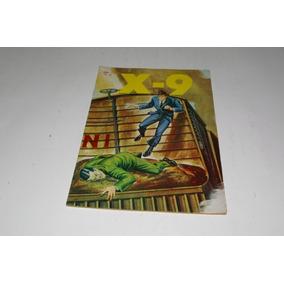 X-9 Nº 8 - 1967 - Editora Lord Cochrane - Original