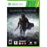 Juego Shadow Of Mordor Xbox 360 Usado Original