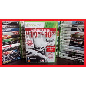 Jogo Batman Arkham City Goty Xbox 360 Pt. Frete R$ 12.