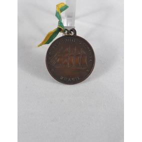 3-antiga Medalha Viagem De Instrução De Guardas Da Marinha