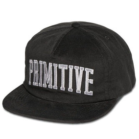 Boné Primitive Premium Desconstructed Black Snapback Skate d8e184619d5