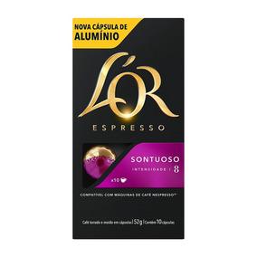 10 Cápsulas Café Sontuoso Lor Compatíveis Nespresso