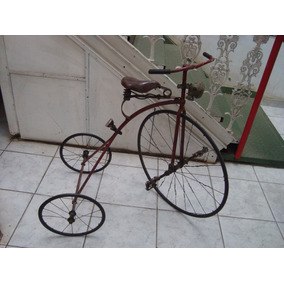 Triciclo Muito Antigo - Início Século Vinte - Bicicleta