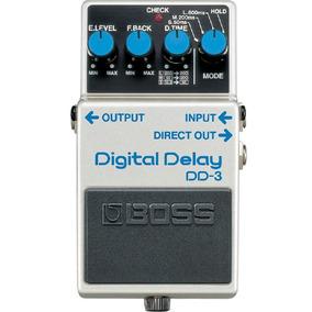 Pedal De Efeito Para Guitarra Digital Delay Dd-3 Boss
