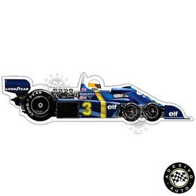 Adesivo Tyrrell P34 Jody Scheckter 1976 F1 Formula 1 Carros