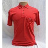 Camisa Polo Masculina Vermelha Algodão Pima Loja Elle Et Lui 58dc7df3b9728