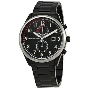 Reloj Michael Kors Mk Mk8575 Negro Cronógrafo Original Hombr