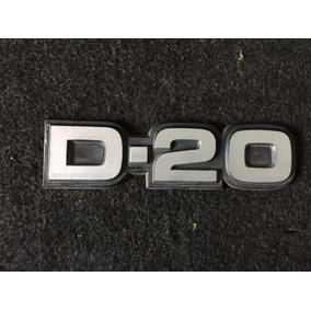 Par Emblema Adesivo Chevrolet D20 Original